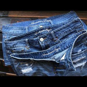 3/$30!! American Eagle jean shorts! 🦅